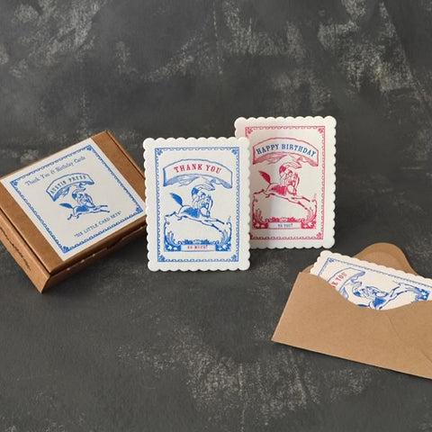 Letterpress Cards - Circus Boy
