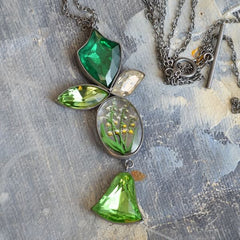 Green Heritage Necklace - Green
