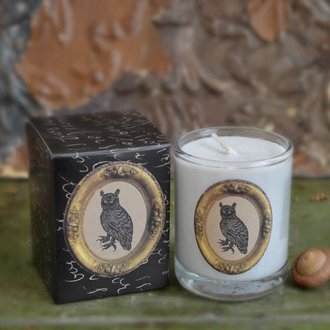 Patch NYC - Owl Votive Candle