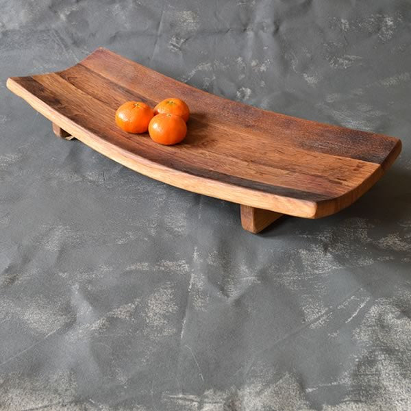 Recycled French Curved Platter