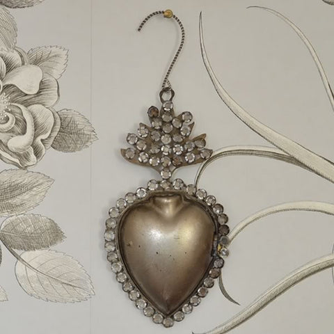 Mexican Jewelled Heart