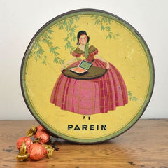 Vintage biscuit tin from Holland