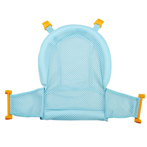Baby Shower Bath Tub Pad Non-Slip Bathtub Seat Support Mat Newborn Safety Security Bath Support Cushion Foldable Soft Pillow