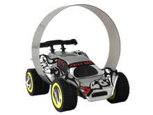 Load image into Gallery viewer, Single Pack Trixx 360 a Pull Back Stunt Car with RAMP, Friction Powered, Can do Power Slide, Wall Ride, 360 Flip, Back to Back. Invent your own Tricks, GREAT GIFT FOR 3 4 5 6 7 8 Year Old Boys Girls