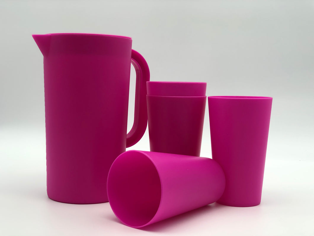 Set of 5 Drinkware Set - ChorusHome products are specially formulated to enhance biodegradation in landfill conditions and are 100% recyclable. Unbreakable, Eco Friendly, BPA Free, Dishwasher and Microwave Safe.
