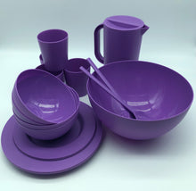 Load image into Gallery viewer, Set of 4  Dining Set - ChorusHome products are specially formulated to enhance biodegradation in landfill conditions and are 100% recyclable. Unbreakable, Eco Friendly, BPA Free, Dishwasher and Microwave Safe. Perfect for indoor, outdoor and boating party
