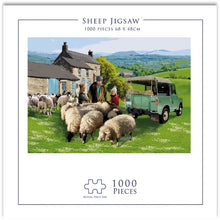 Load image into Gallery viewer, Jigsaw Puzzles for Adults & Kids 1000 Piece Large Puzzle Game Artwork Sheep, Educational Intellectual Decompressing Fun Family Games DIY Toys Gift, - 26.8X18.9inch / 68X48cm