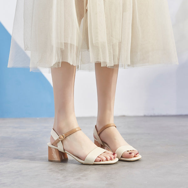 【Boutique】Summer new styles with skirts and high-heeled sandals