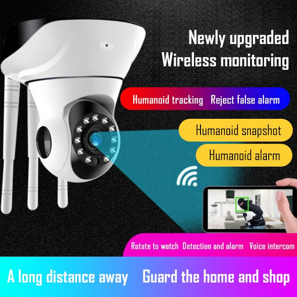 360° all-round guardingWireless Smart Lamera