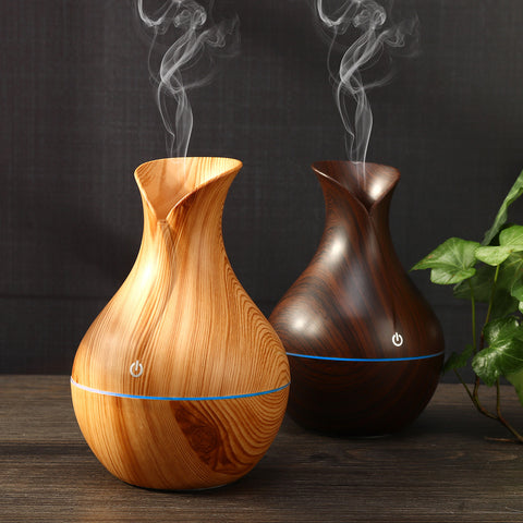Wood Grain Mist Humidifier