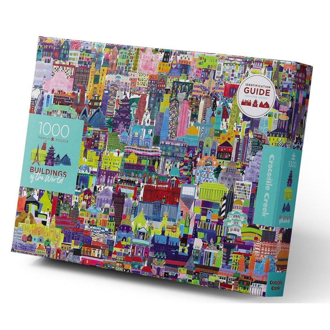 Buildings of the World 1000-Piece Puzzle by Crocodile Creek
