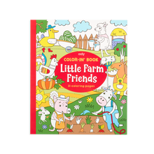 Load image into Gallery viewer, OOLY Color-In' Book - Little Farm Animals