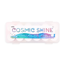 Load image into Gallery viewer, OOLY Cosmic Shine Acrylic Paint Set