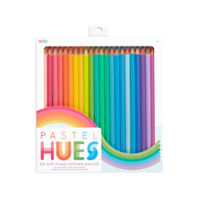 Load image into Gallery viewer, OOLY Pastel Hues Colored Pencils - Set of 24