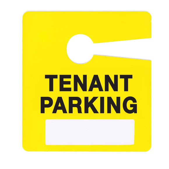 Milcoast Tenant Parking Permit Pass Stock Hang Tags - 10 Pack