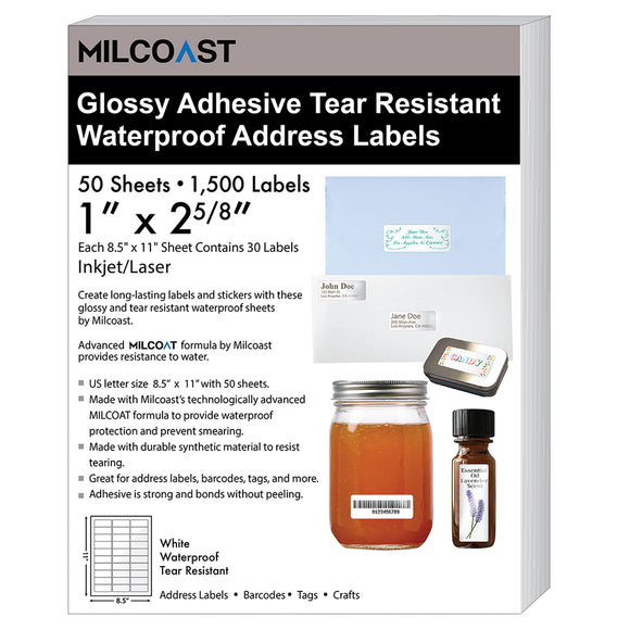Milcoast Glossy Waterproof Tear Resistant 1