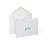 "Milcoast Matte Adhesive Address Labels 1/2"" x 1-3/4"" - 4000 Labels (50 Sheets)"