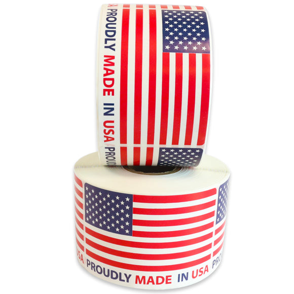 "Milcoast ""Proudly Made in USA"" Label Stickers"