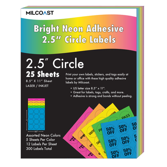 Milcoast Bright Neon 2.5