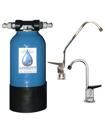 L3 High Usage Water Filter with chrome fountain & fitting kit