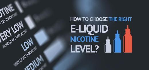 How to Choose the Right Nicotine Strength for Your E-Liquid?