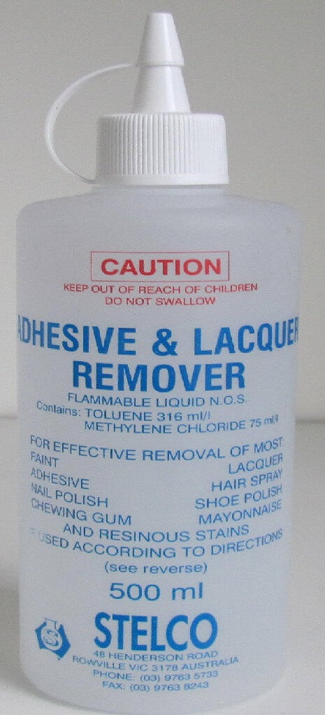 Stelco Adhesive & Lacquer Remover