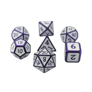 Blizzard Purple - 7pc RPG Dice Set