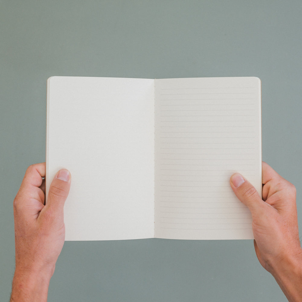 A notebook that fits in a handbag