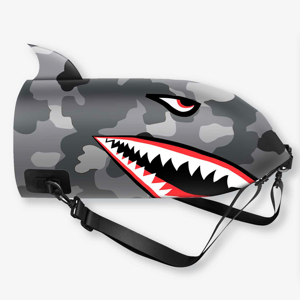 Shark Dry Bag Backpack 10L/20L (Camouflage)