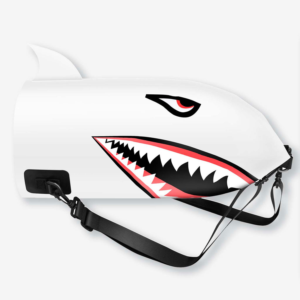 Shark Dry Bag Backpack 10L/20L (White)