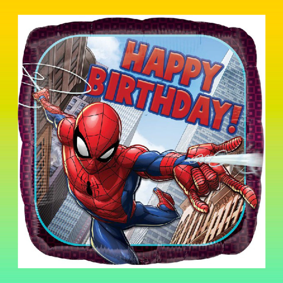 Ballon Gonflé HBD Spiderman