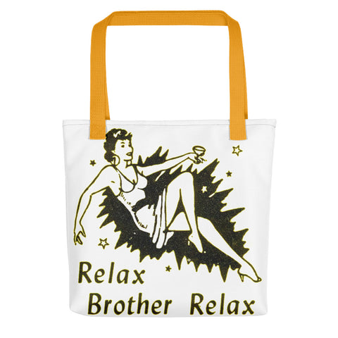 Relax Brother Tote bag
