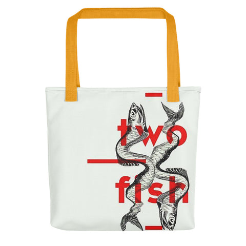 2 Fish Are Forever Tote bag