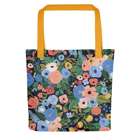 Busy Floral Tote bag