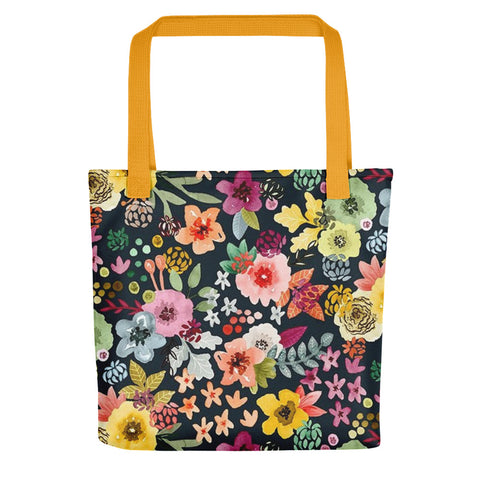 Warm Floral Tote bag