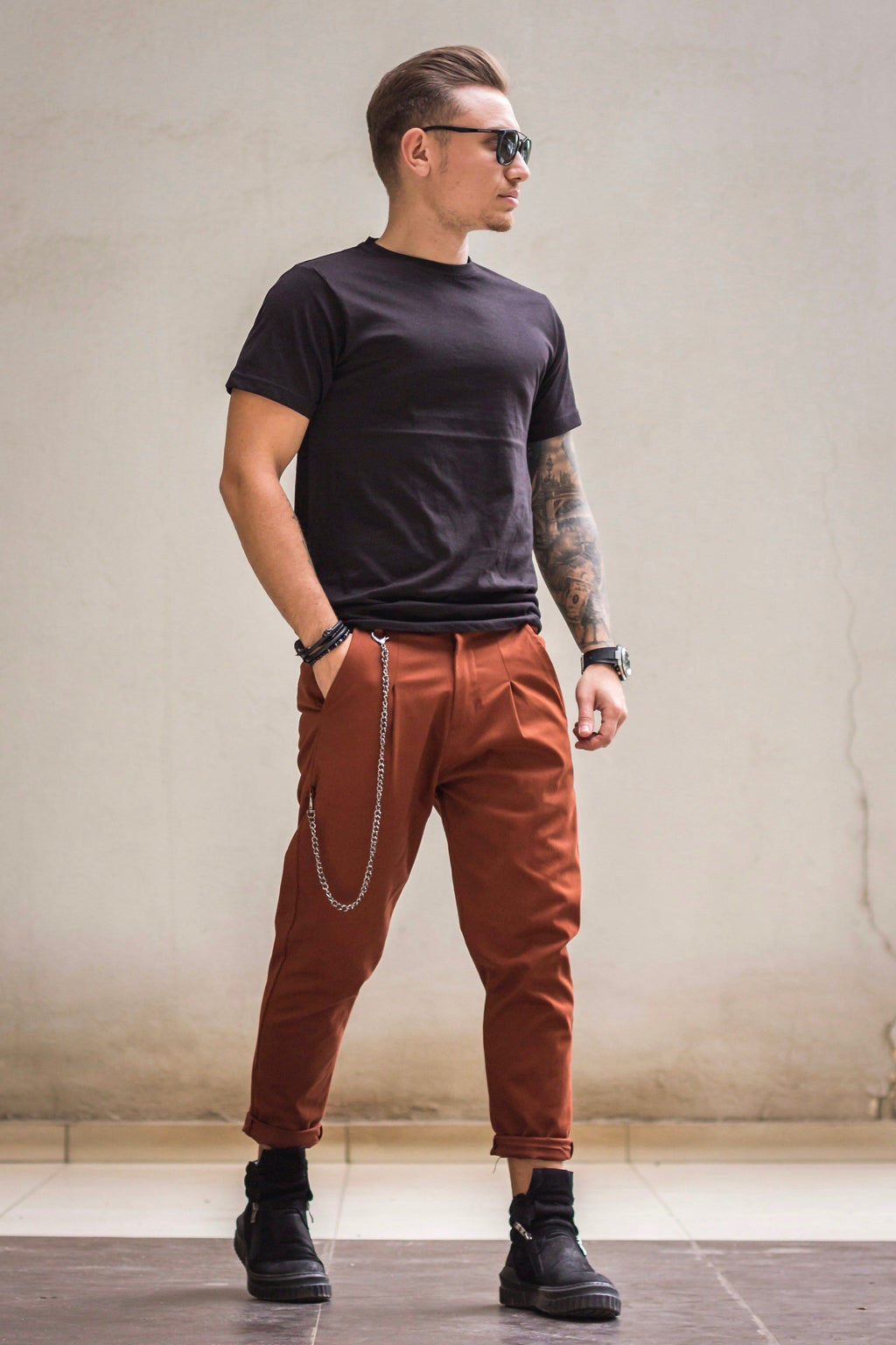 Pantaloni Vision Brown