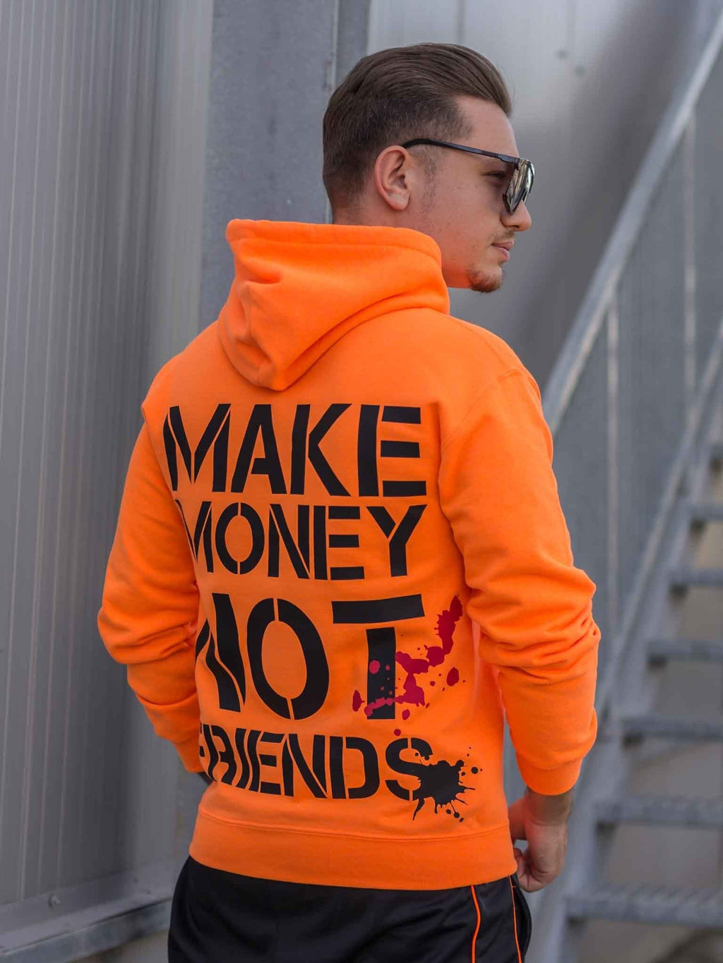 Hanorac Make Money Orange