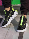 Sneakers Lift Neon-Black