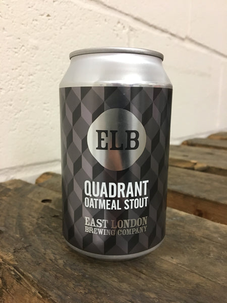 Quadrant Oatmeal Stout Can (5.8% ABV)