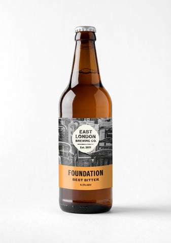 Foundation Bitter (4.0% ABV) Case of 12 Bottles