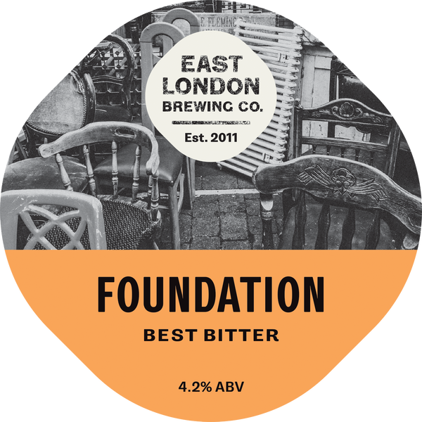 Foundation Bitter (4.2% ABV)