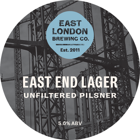 East End Lager Unfiltered Pilsner (5.0% ABV)