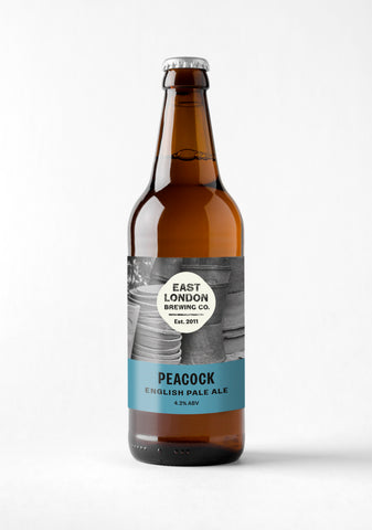 Peacock English Pale Ale (4.2% ABV) Case of 12 Bottles