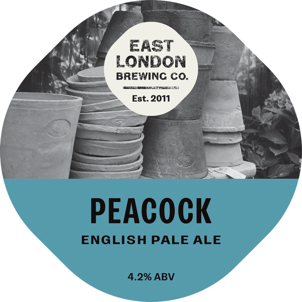 Peacock English Pale Ale (4.2% ABV)