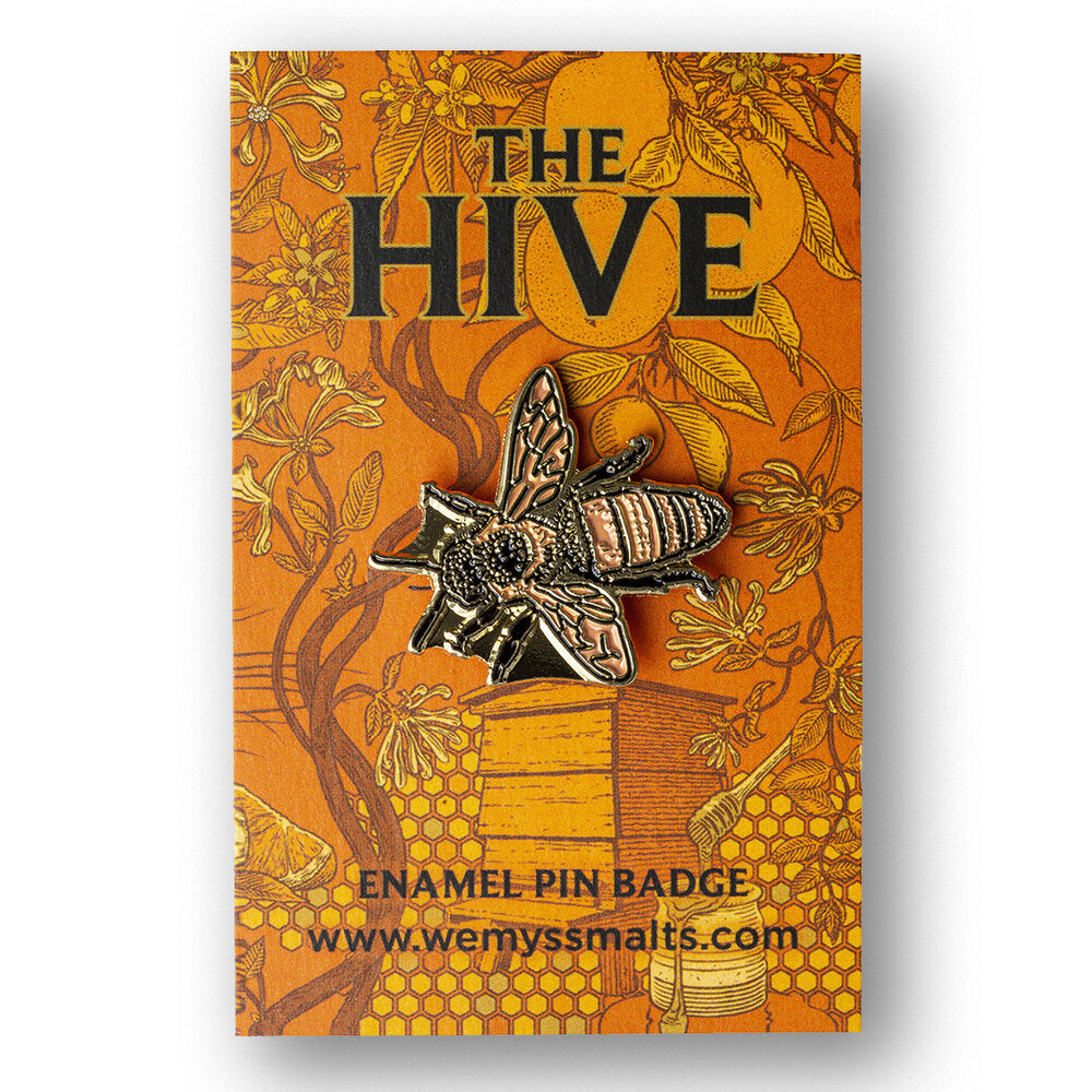 THE HIVE PIN BADGE (NOT EU)
