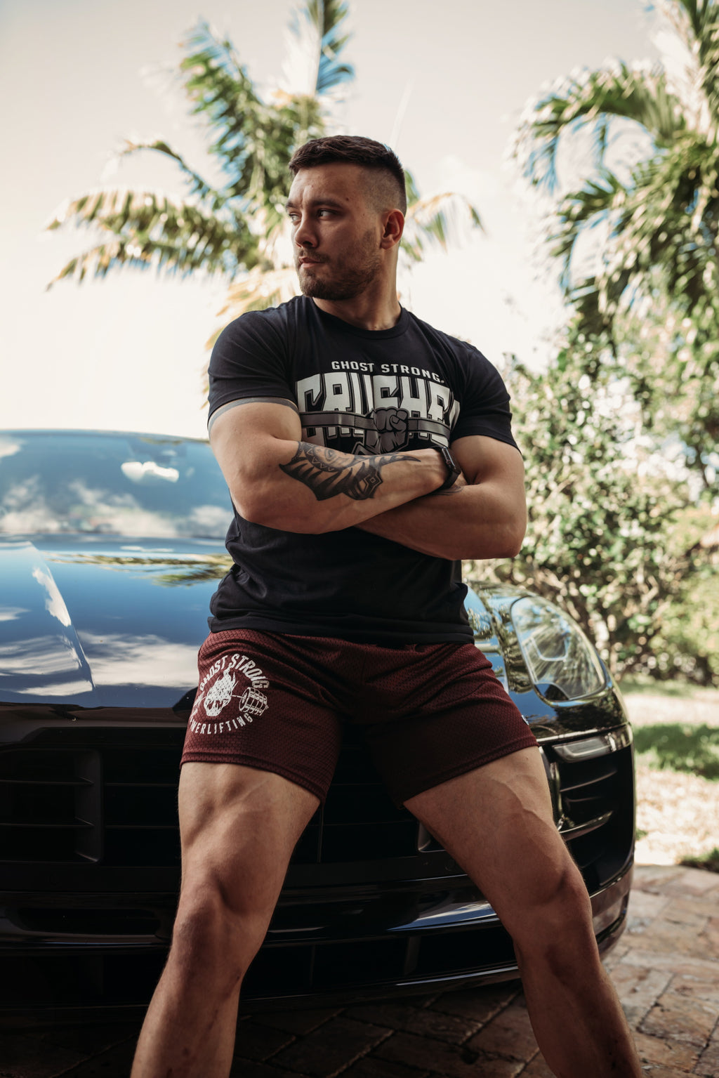 Ghost Powerlifting Champion Shorts