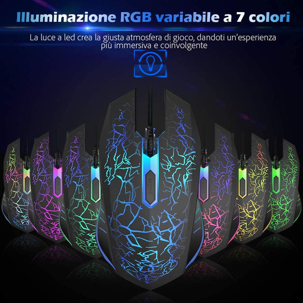 Mouse Optico Gamer X1 Black