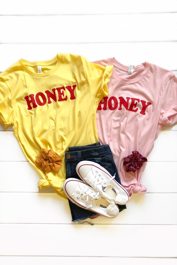 Honey Graphic Tee - Babe Outfitters