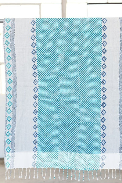 Indian Hand Block Printed Towel - Babe Outfitters