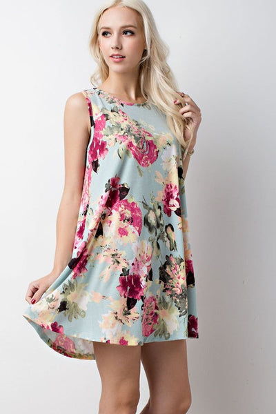Camilla Dress (Sage) - Mint Wish